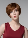 Ericdress Elegant Short Straight Capless Human Hair Wig 6 Inches