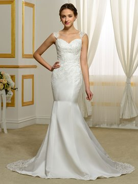 Ericdress Charming Straps Mermaid Wedding Dress