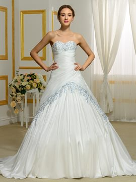 Ericdress Exquisite Sweetheart Ball Gown Color Wedding Dress