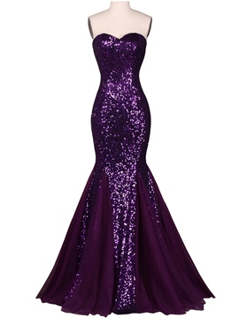 Ericdress Sequins Sweetheart Mermaid Formal Dress