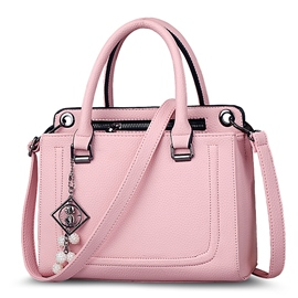 Ericdress Casual Thread Decorated Solid Color Handbag