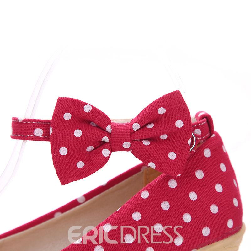 Ericdress Lovely Dots Wedges