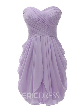 Ericdress Beautiful Sweetheart Chiffon Bridesmaid Dress