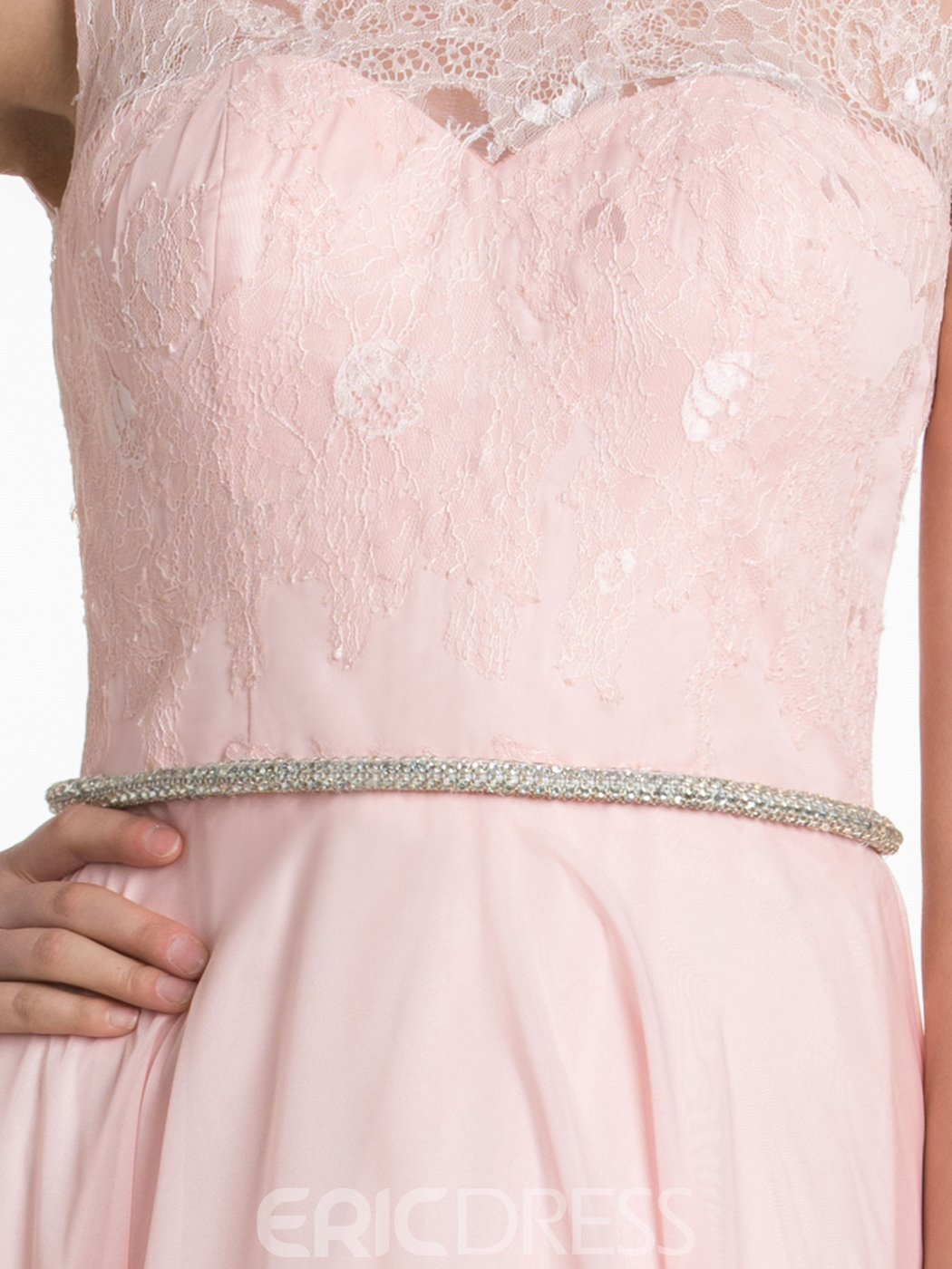 Ericdress Charming Lace A Line Bridesmaid Dress