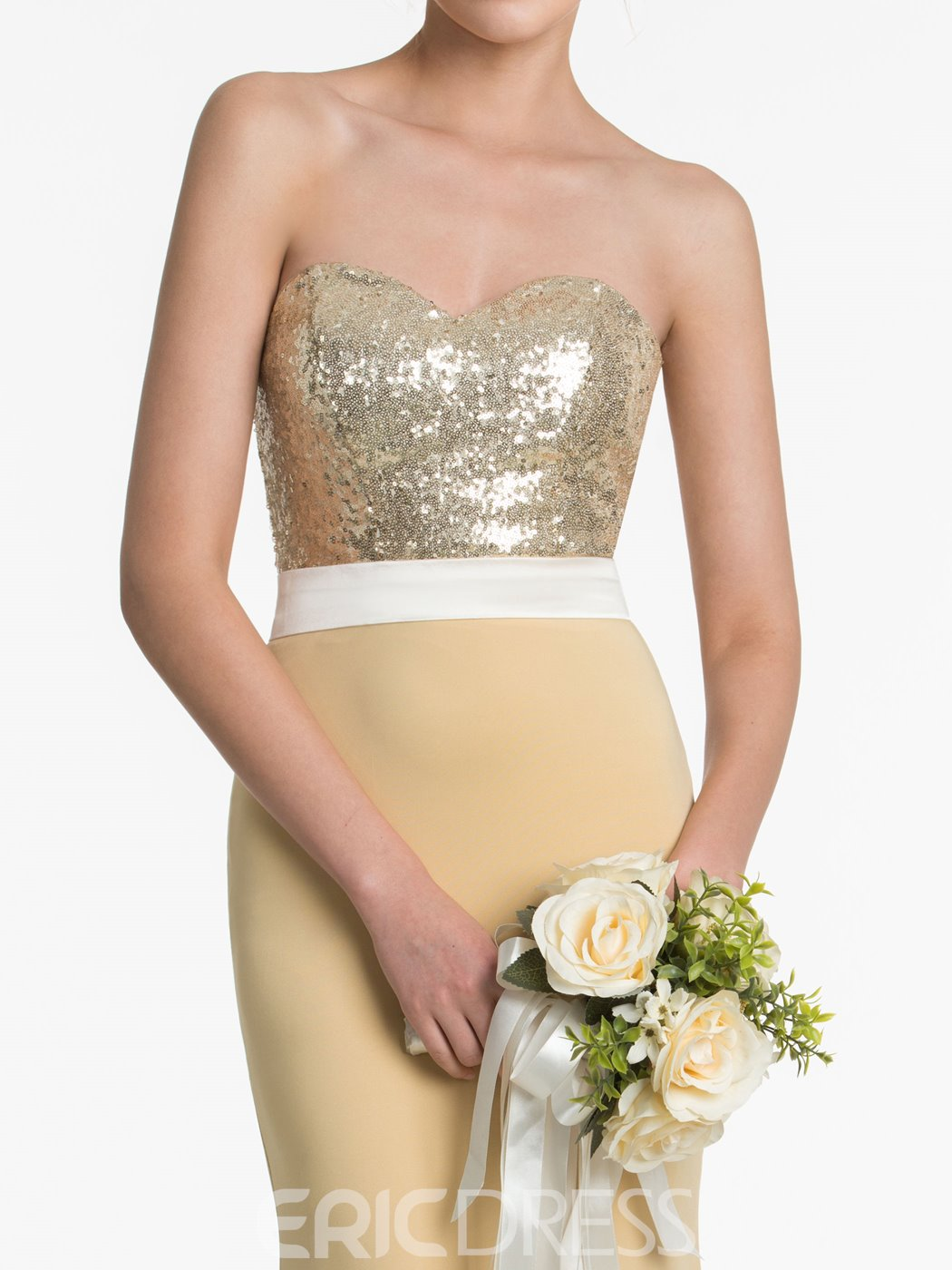 Ericdress High Quality Sweetheart Mermaid Sequins Bridesmaid Dress