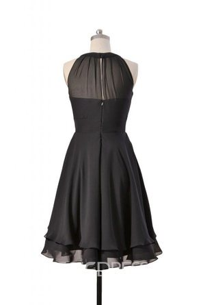 Ericdress Halter Short Bridesmaid Dress