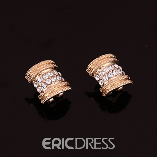 Ericdress Luxury Diamante Jewelry Set