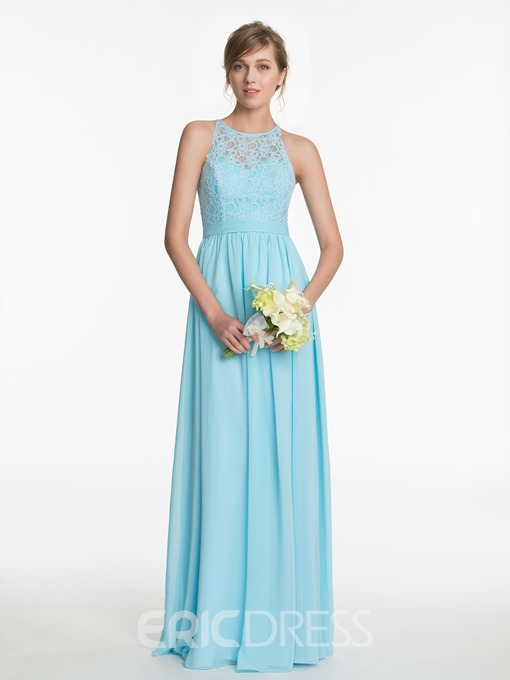 Ericdress Sashes Lace Bridesmaid Dress