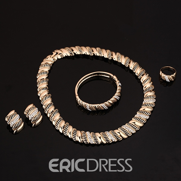 Ericdress European Style Geometric Jewelry Set