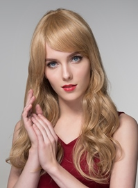 Ericdress Long Straight Capless Human Hair Wigs 24 Inches