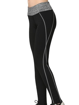 Ericdress Quick Dry Polyester Full Length Running Leggings