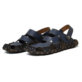 Ericdress Solid Color Men's Sandals