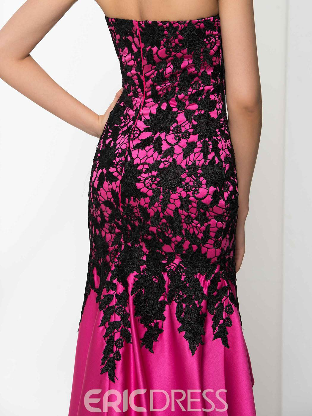 Ericdress Sweetheart Lace High Low Prom Dress