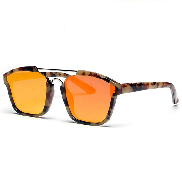 Ericdress Camouflage Frame Reflective Sunglasses