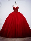 Ericdress Gorgeous Beaded Sweetheart Ball Gown Wedding Dress