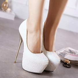 Ericdress Colorful Sequins Stiletto Pumps