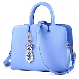Ericdress Casual Candy Color Handbag