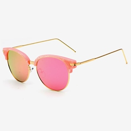 Color Film Eyebrows Sunglasses