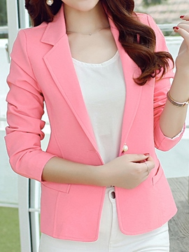 Ericdress Simple OL Blazer