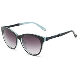 Ericdress Rose Carving Cat Eye Sunglasses