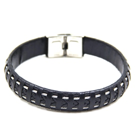 Ericdress Punk Multi-Layer Weaved Men's Bracelet