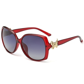 Ericdress Elegant Butterfly Polarized Sunglasses
