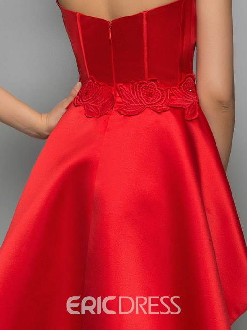 Ericdress Sheath Appliques Lace Bodycon Homecoming Dress