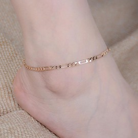 Ericdress Simple Chain Design Anklet