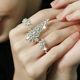 Ericdress Fashion Personality Snow Queen Open Ring
