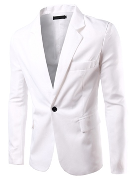 Ericdress Multi-Color Notched Lapel Simple Men's Casual Blazer