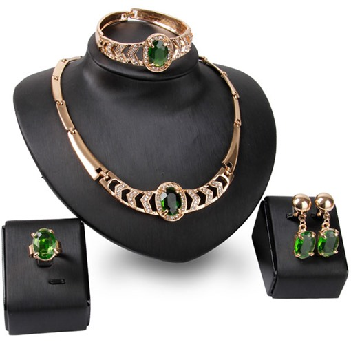 Ericdress Temperament Diamante Jewelry Set