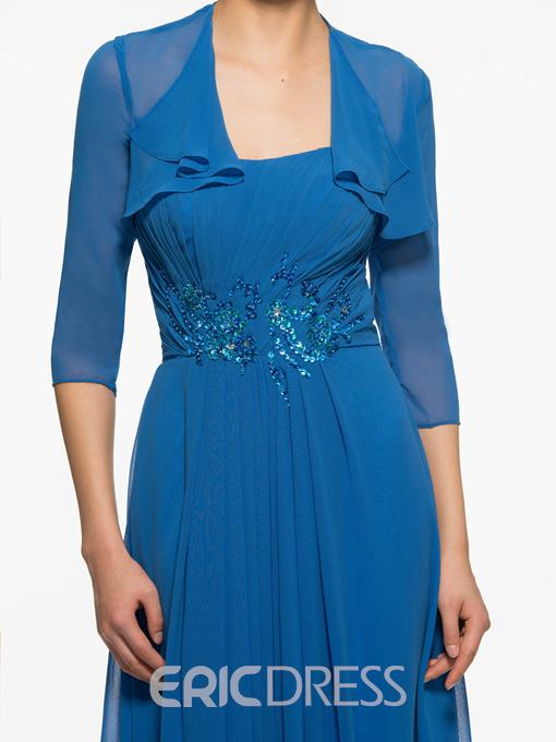 Ericdress Beautiful Strapless A Line Long Mother Of The Bride Dress With Jacket