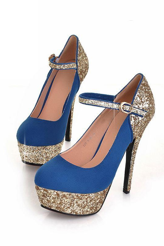 Ericdress Exquisite Color Block Prom Shoes