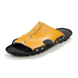 Ericdress Solid Color Men's Casual Sandals with Rivets