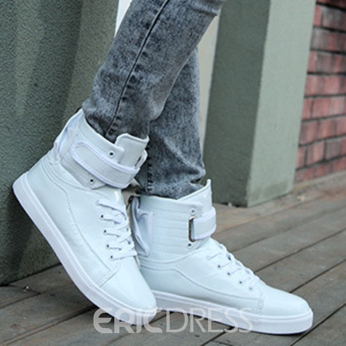 Ericdress Velcro Round Toe Lace-Up Men's Sneakers