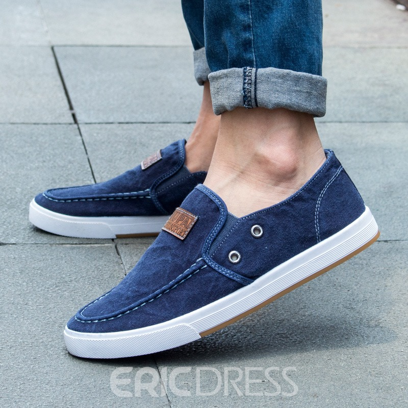 Ericdress Denim Slip-On Men's Loafers
