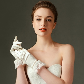 Ericdress Charming Satin Wedding Gloves