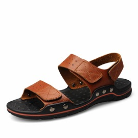 Ericdress Solid Color Men's Sandals with Rivets