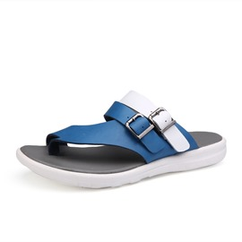 Ericdress Toe Ring Slip-On Buckle Men's Sandals