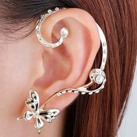 Ericdress Personality Diamante Ear Cuff for Women