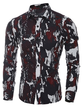 Ericdress Quality Camouflage Casual Men's Shirt