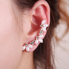 Ericdress Alluring Diamante Pearl Fashion Earring