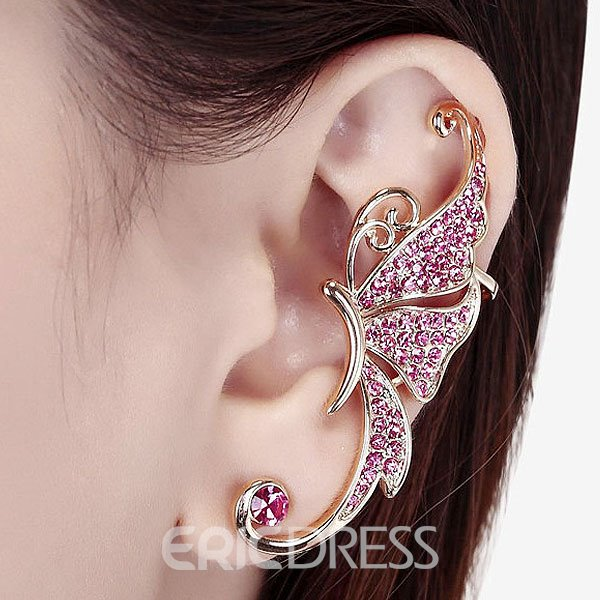 Ericdress Charming Diamante Women's Ear Cuff