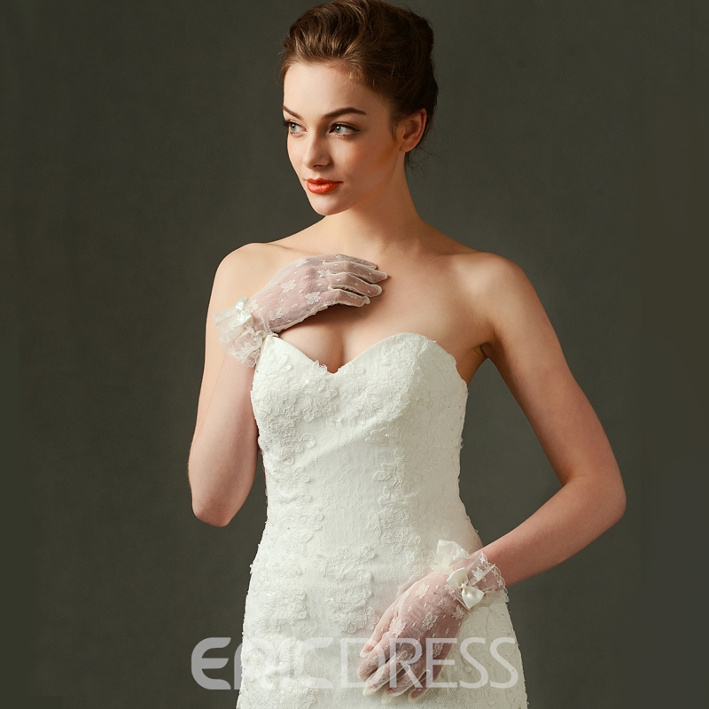 Ericdress Lace Bridal Gloves