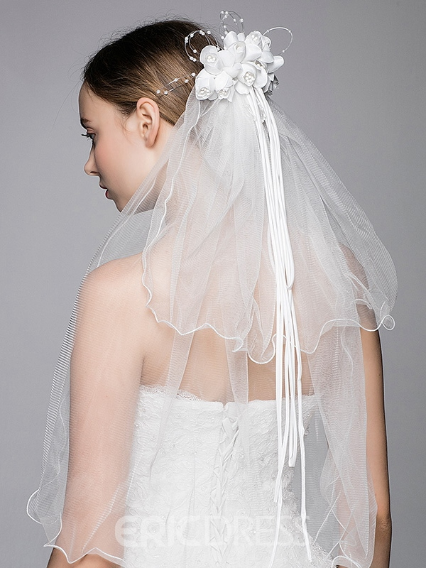 Beautiful Double Layers Wedding Veil