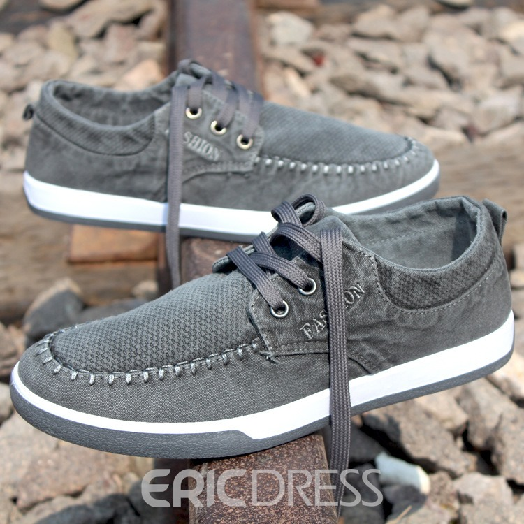 Ericdress Cool Korean Denim Men's Canvas Shoes