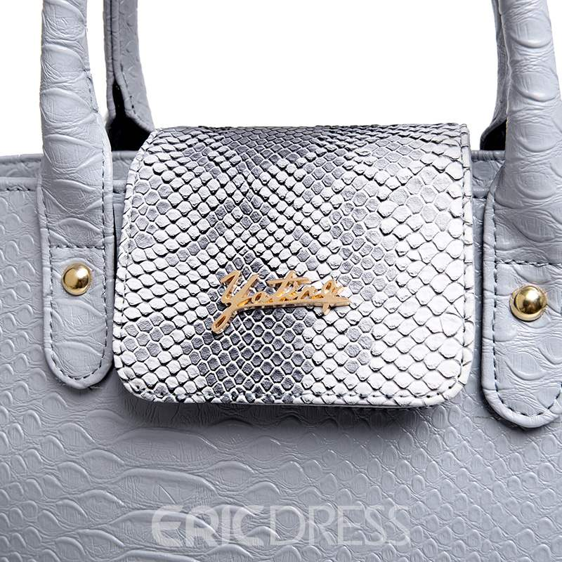 Ericdress Casual Croco-Embossed Handbags(6 Bags)