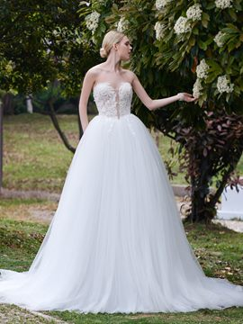 Ericdress Beautiful Sweetheart Ball Gown Garden Wedding Dress