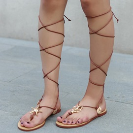 Ericdress Roman Cross Strap Gladiator Sandals