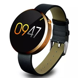 Reloj negro Bluetooth Smart